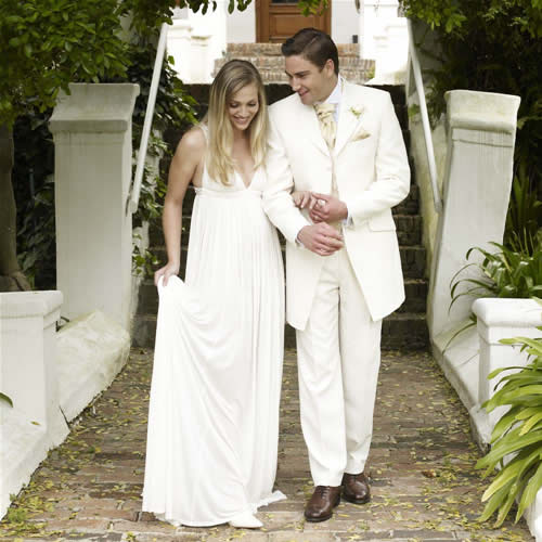 krem muško odelo za venčanje