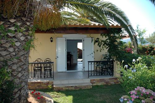 romantični apartman na Krfu