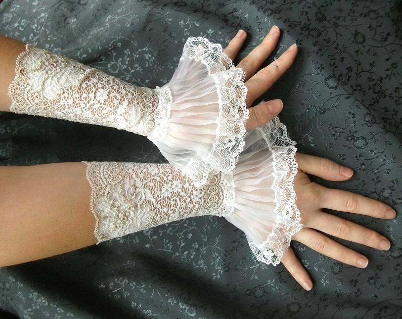 jedinstvene rukavice od cipke