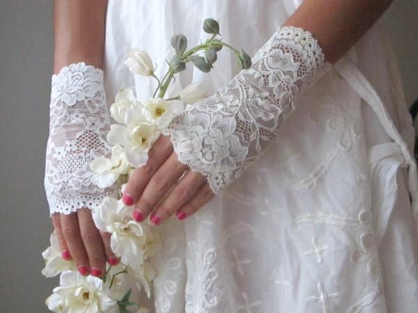stilske cipkane rukavice