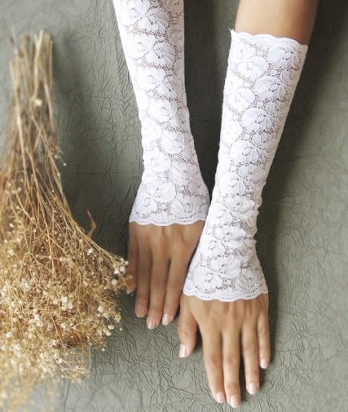 cipkane rukavice sa cvetnim motivom