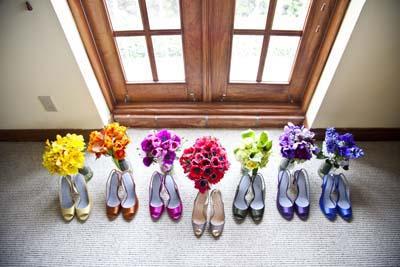 cipelice i bidermajer u istoj boji