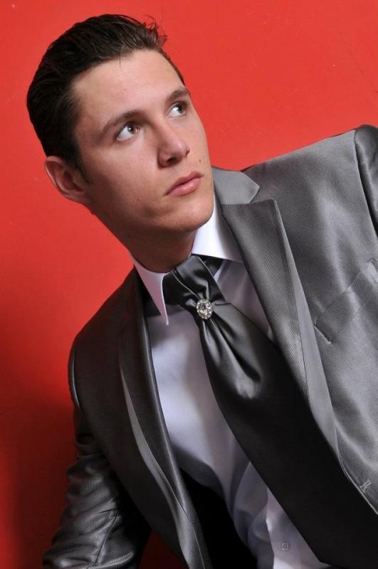 sivo muško odelo Butik ZiD2