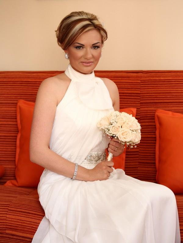 Tijana u predivnoj venčanici