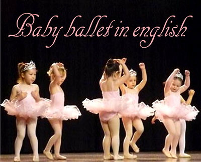baby ballet in english