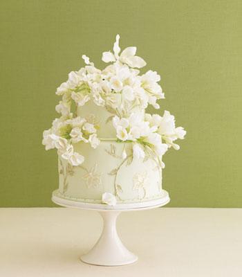 mala savršeno ukrašena mladenačka torta
