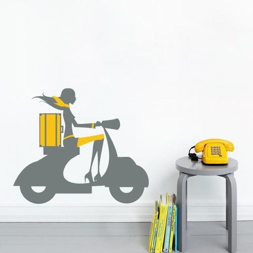 Fantastick stikeri za zid, model Vespa