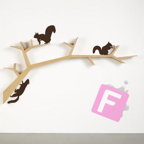 Fantastick stikeri za zid, model Veverice