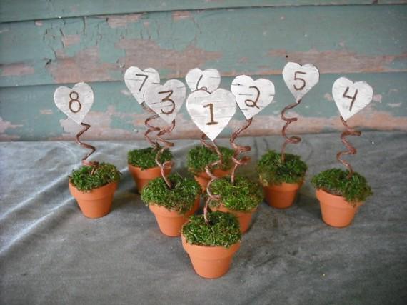dekorativni brojevi za stolove