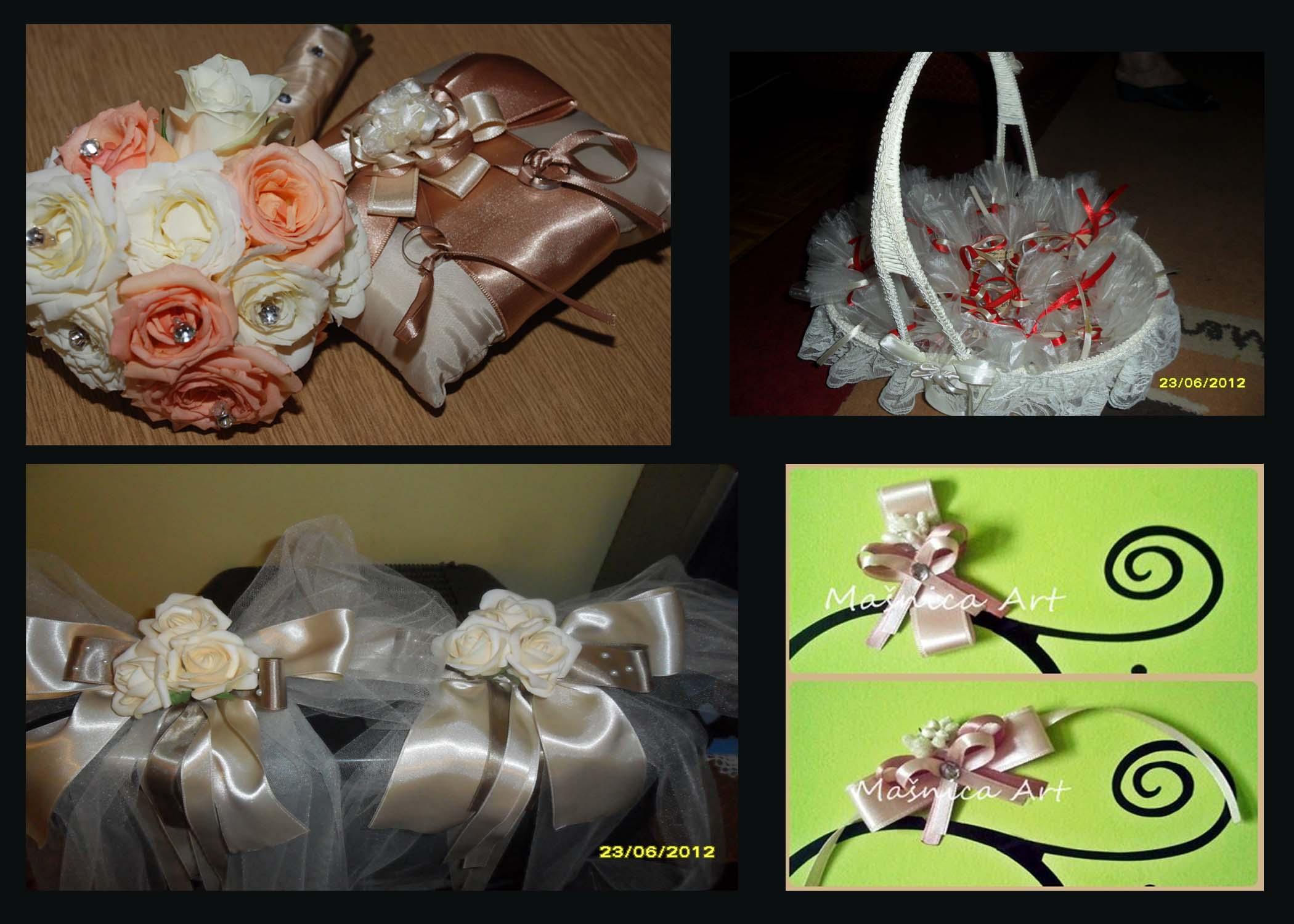 bidermajer, burme, kicenje za svatove