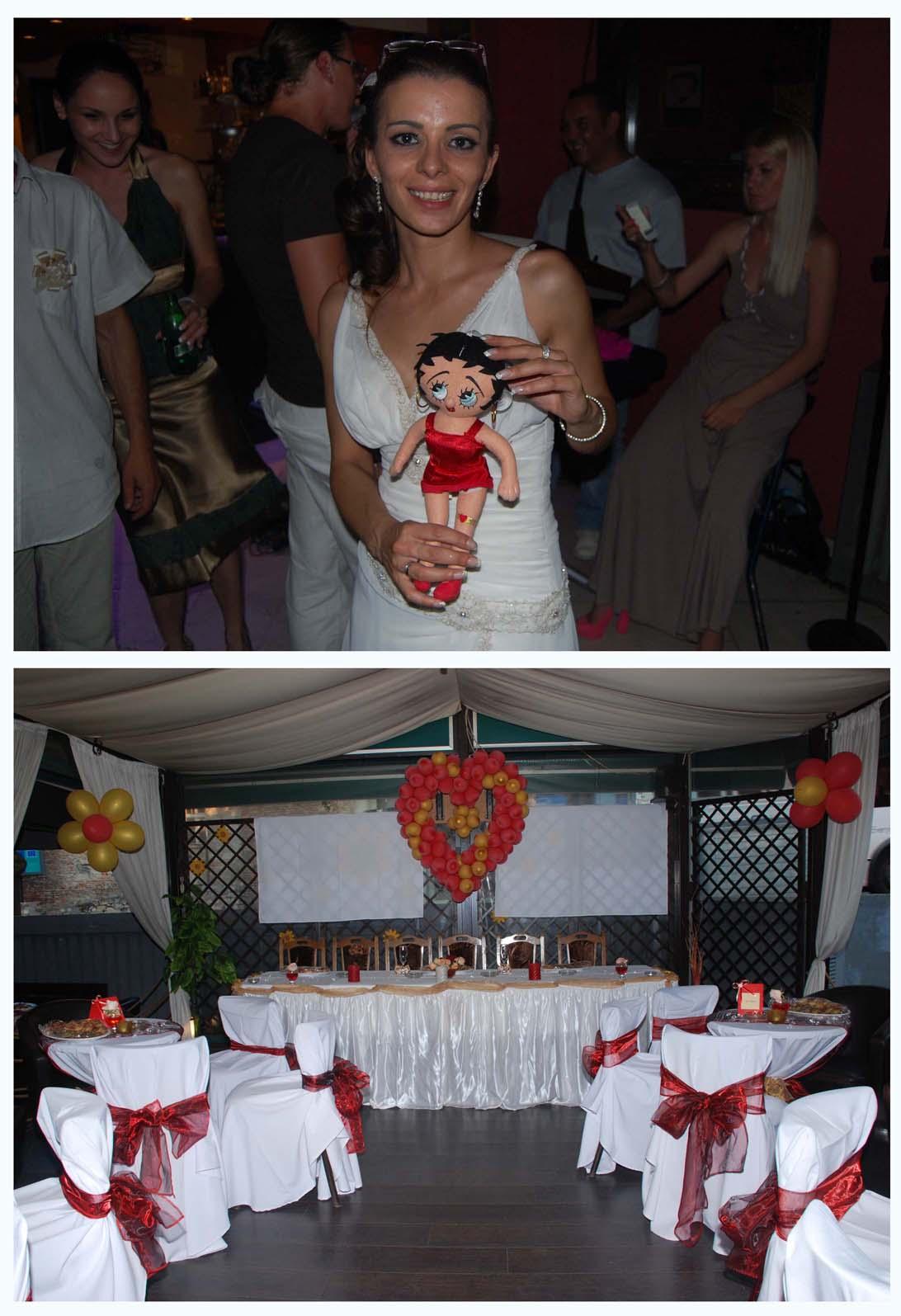 mlada i dekoracija balonima