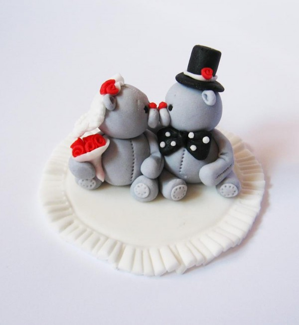 Edita Bala figurice za mladenačku tortu