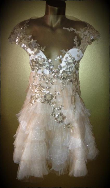 haljina Boudoir Golden Dust Dress