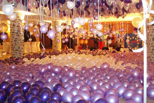 baloni na venčanju