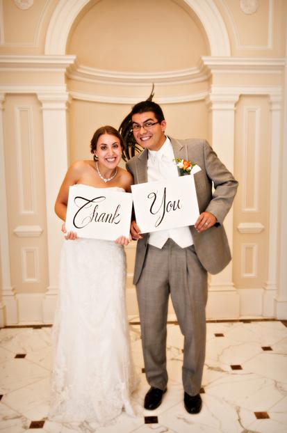 zahvalnica za venčanje