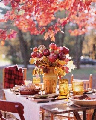 dekoracija venčanja sa temom jesen