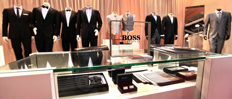 Belgrade Wedding Show 2011 Hugo Boss