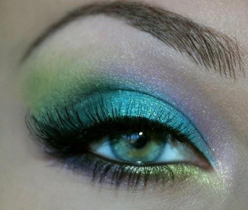 sminka za zelene oci