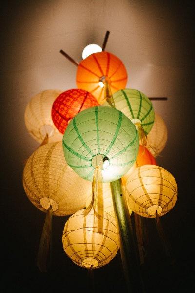 lampioni kao dekoracija