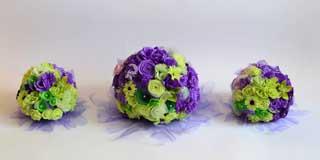 dekoracija vencanja cvecem od papira