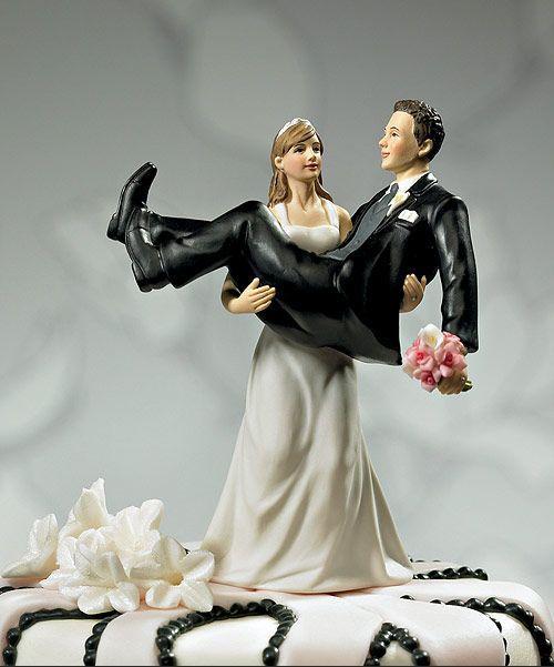 figurice za mladenačku tortu na venčanju