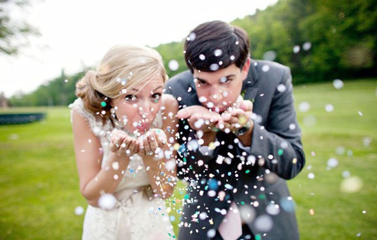 kreativna fotografija sa venčanja