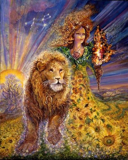 lav u horoskopu