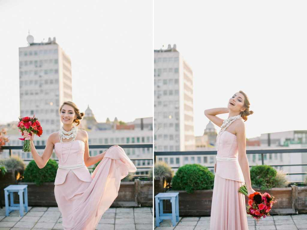 Glam'n'Glitter wedding editorial