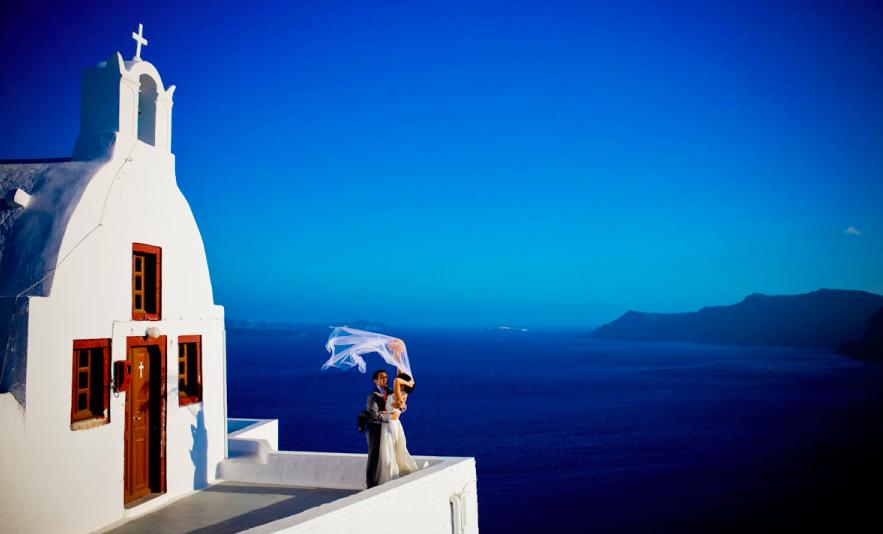 venčanje na Santoriniju