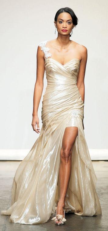 venčanica u zlatnoj boji