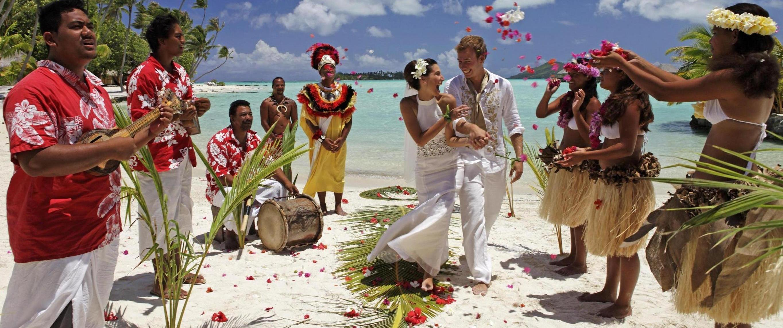 egzotično venčanje