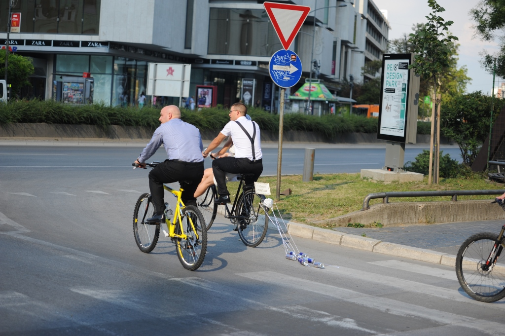 venčanje na biciklovima