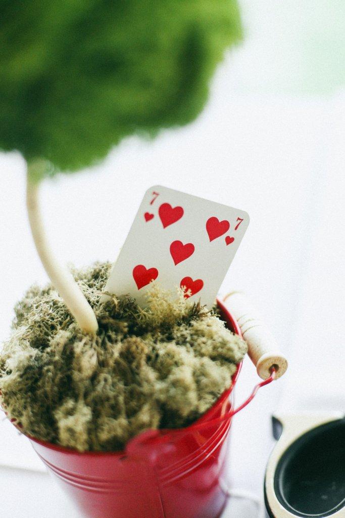 zelena lopta za dekoraciju venčanja
